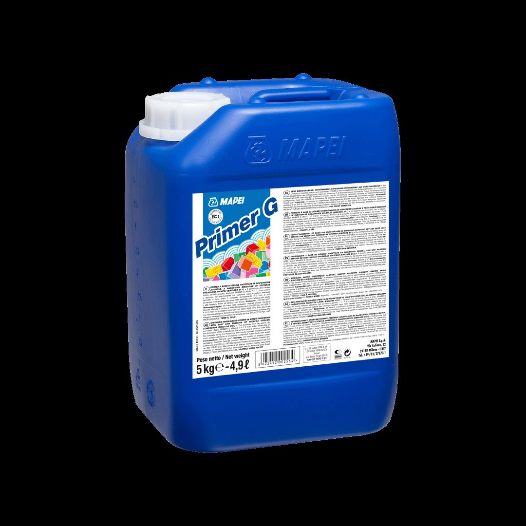 Грунт на основе синтетических смол MAPEI PRIMER G (фасовка 5 кг)