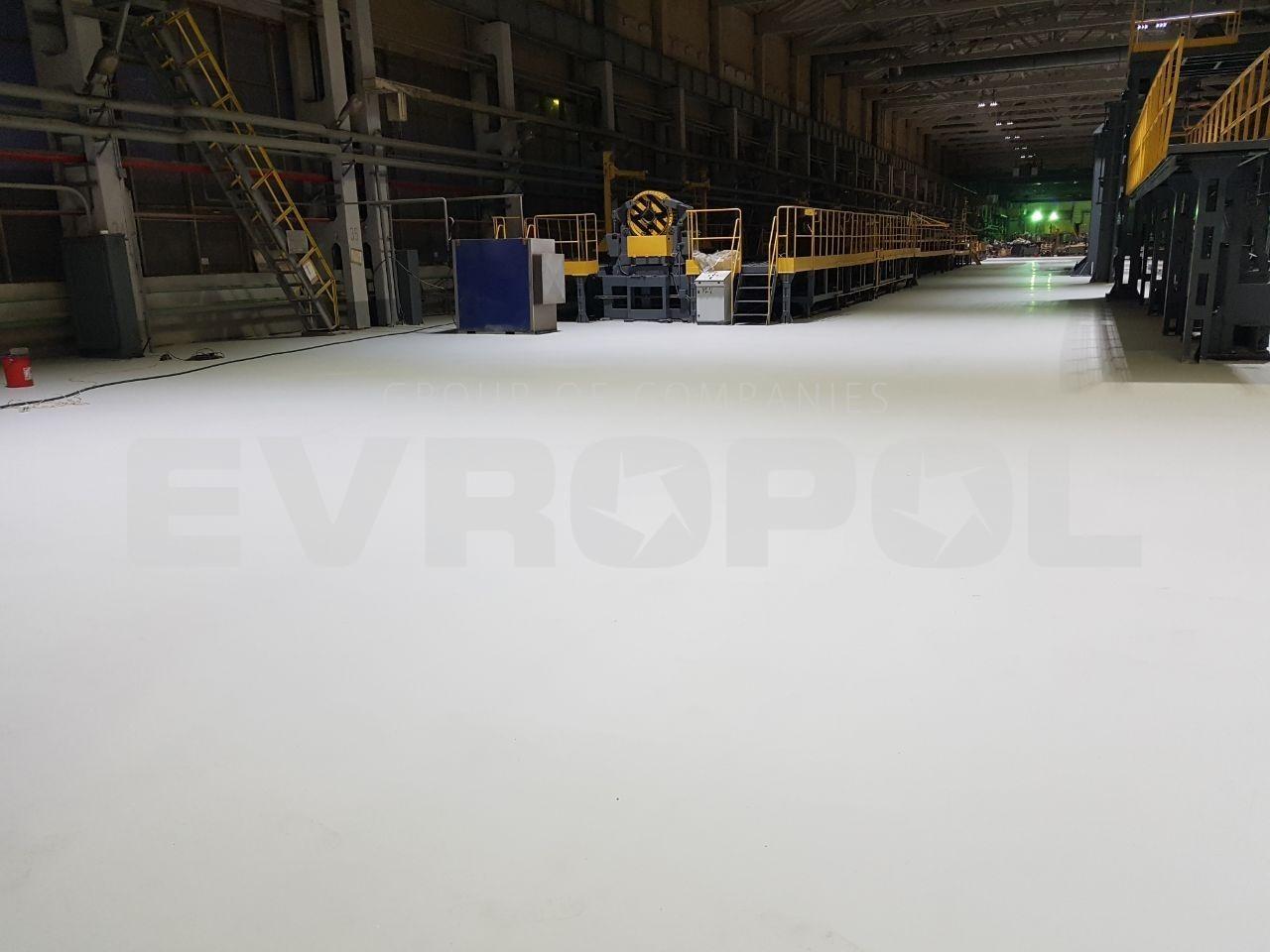 Полиуретановый наливной пол - Половая Компания ЕВРОПОЛ