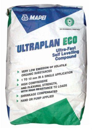 Состав строительный самовыравнивающийся MAPEI ULTRAPLAN ECO для полов (фасовка 23 кг)
