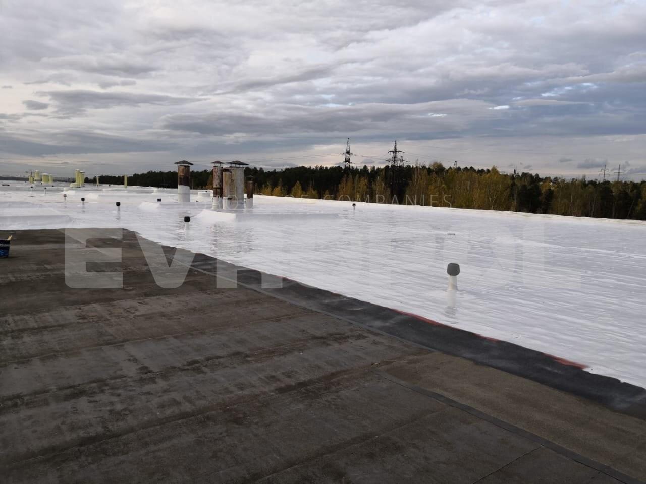 Устройство примыканий гидроизоляции к фонарям на высоту 600 мм - Половая Компания ЕВРОПОЛ