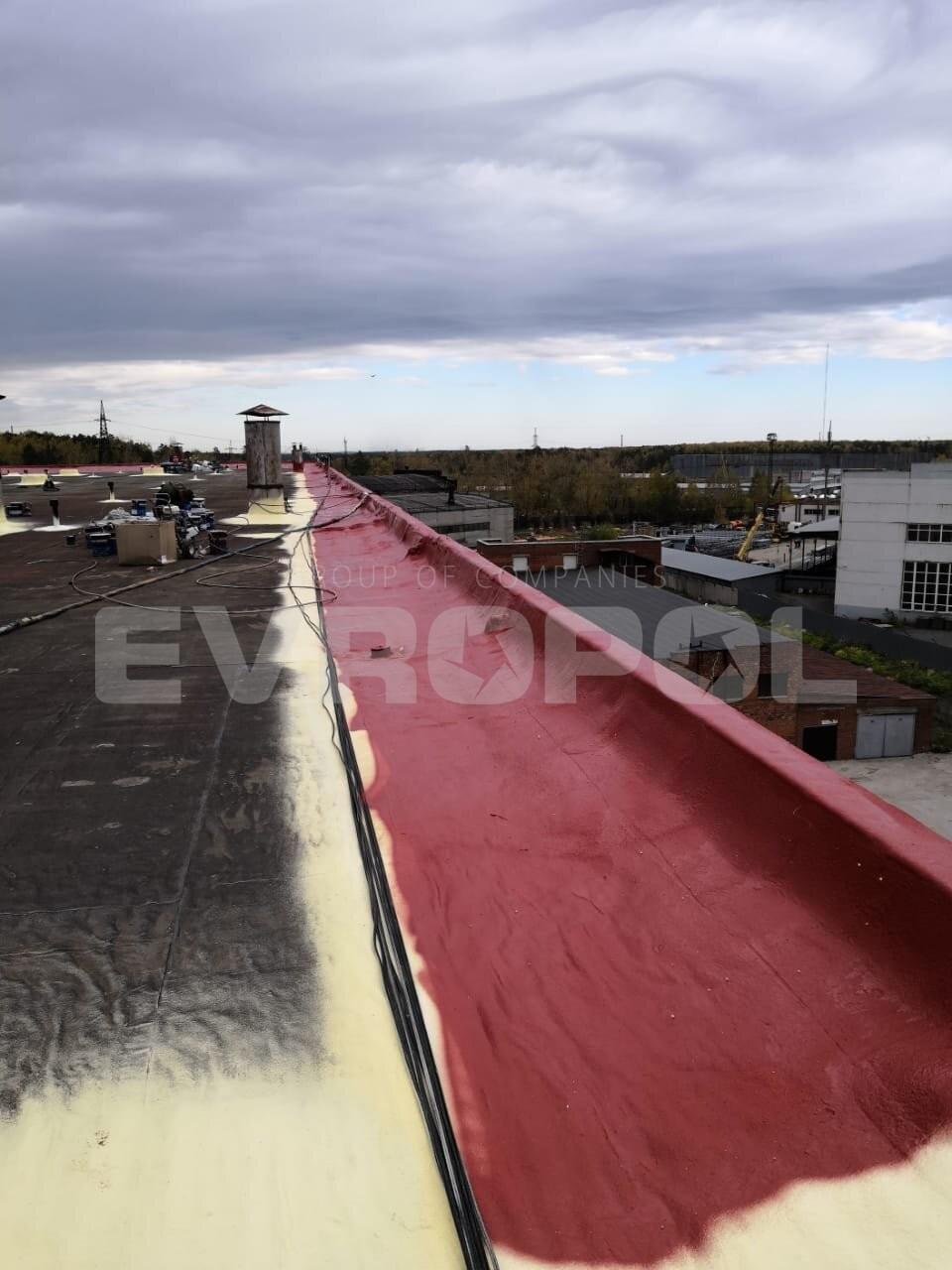 Устройство примыканий гидроизоляции к парапетам на высоту 500 мм - Половая Компания ЕВРОПОЛ