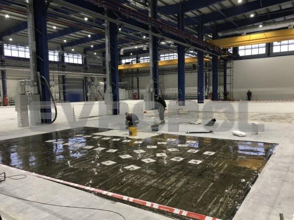 Грунтование бетонной поверхности