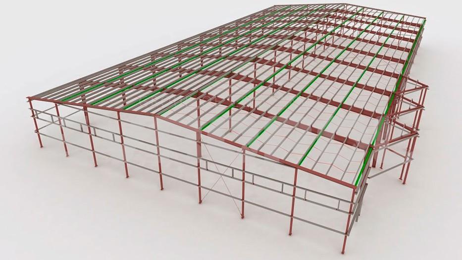 Склады и логистические центры из металлоконструкций